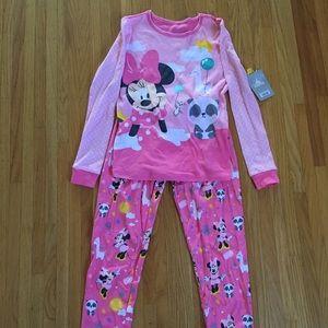 NWT Disney Minnie Mouse pjs